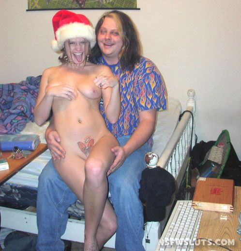 Merry Christmas with Amateur Christmas Girls