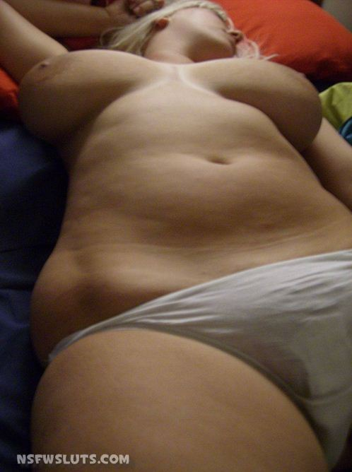 Drunk chubby amateurs