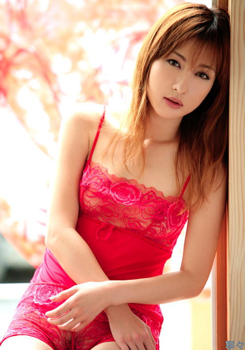 Asian Hottie Nene In Red Lingerie