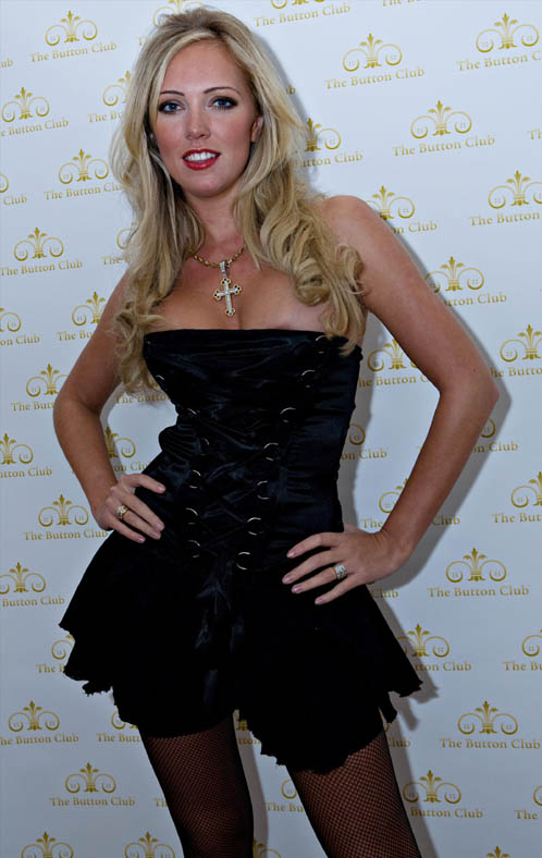 Aisleyne Horgan Wallace In A Slutty Dress At Bloodlust Ball In UK
