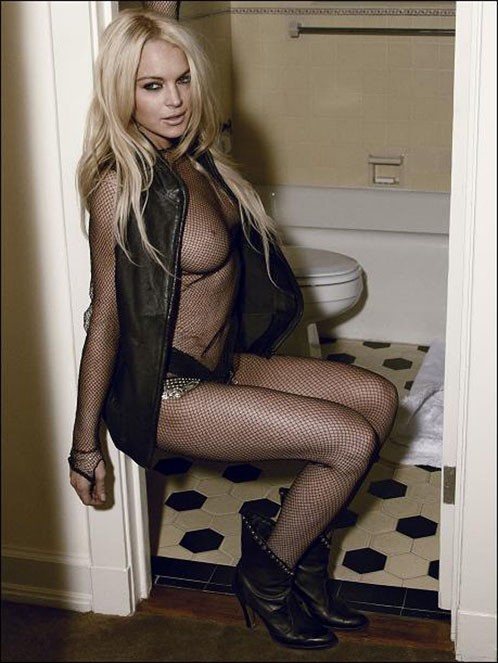 Lindsay Lohan's Controversial New Photo Shoot For Muse