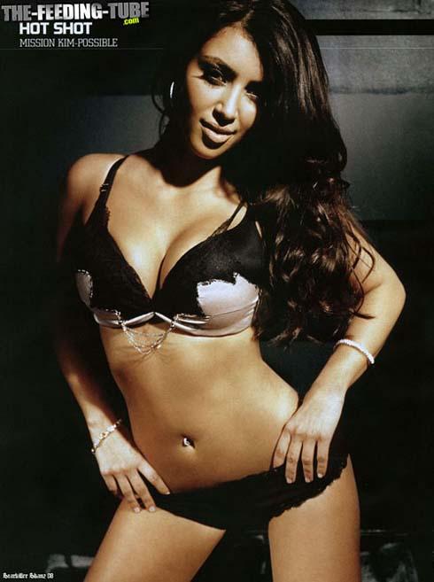 Kim Kardashian Ralph Magazine Pictures