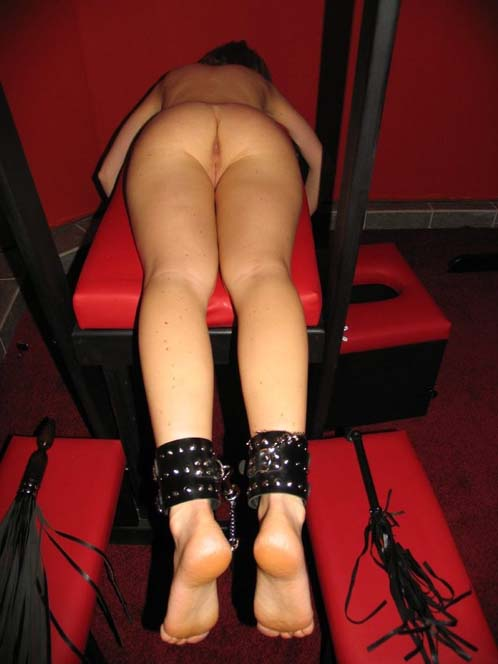 Bondage Kinky Slut Tied In Fuck Chair