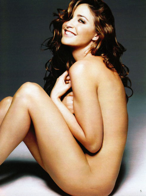 Lisa Snowdon Gets Naked For PETA