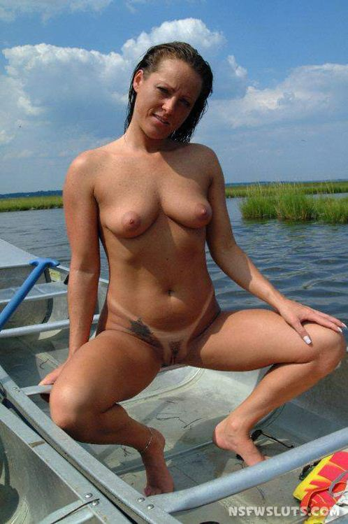 nude fly fishing women with big boobs