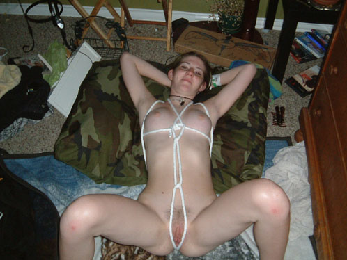 Nasty Teen Slut Like To Be Tied Up
