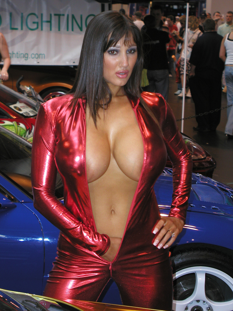 Topless car show girl, dominican wetpussy