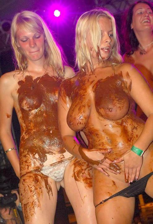 body paint sluts