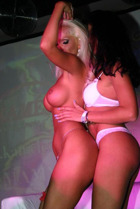 Naked Strippers Dancing at Private Show