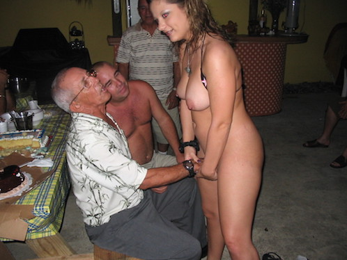 Groped By Old Guys