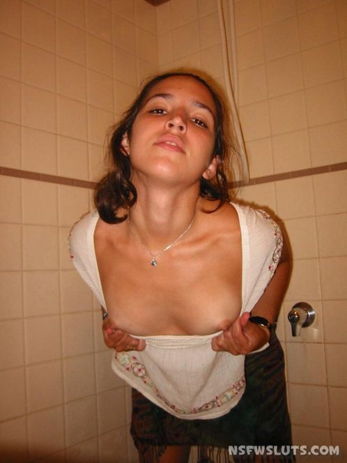 Naughty Girls Flashing Nipples
